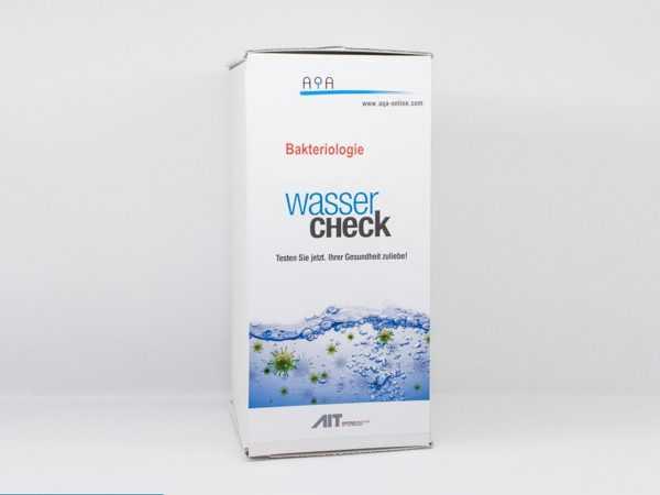 WasserCheck Bakteriologie